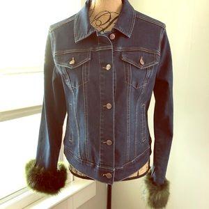 Nanette Lepore denim jacket